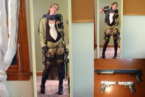 Alice Resident Evil Extinction Cosplay by calviniagirl