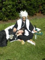 Momo x Toshiro by CeruleanTwin