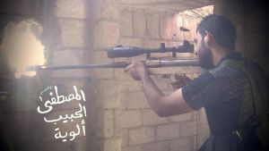 Free Syrian Army sniper by saudi6666