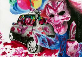The Clowns In The Mini by hipy666
