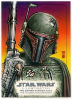 Boba Fett - EMPIRE ILLUSTRATED Artist Proof by Erik-Maell