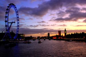 London's Dusk by jessyhorse