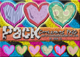 Hearts Pack PNG by juststyleJByKUDAI