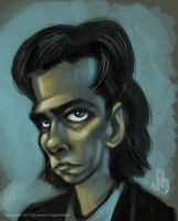 nickCave by jerryhiggy