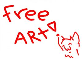 FREE ART! by CGhall-X