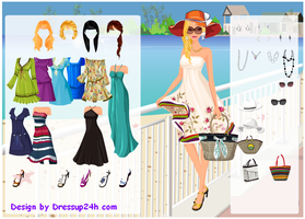 Summer Beach - Dress  up Games by willbeyou