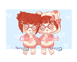 [CLOSED] Spinda Twins by Momoroo