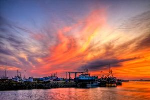 The Wharf HDR Newfoundland by Witch-Dr-Tim