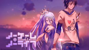 Wallpaper No Game No Life by Coco-lein
