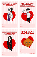Orphan Black Valentine's Day Cards by morphmaker