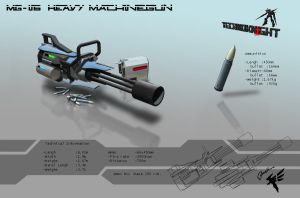Machinegun 1 by Cyber--Hawk