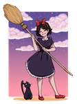 Kiki's Delivery Service by guardian-angel15