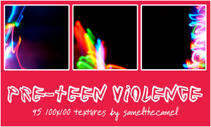 Pre-Teen Violence Textures by samelthecamel
