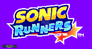 Sonic Runners Logo Pixel Art and Animation (Soon) by NSMBXomega