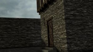 Medieval house 4 by Thosar