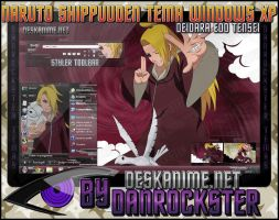 Deidara Edo Tensei Theme Windows XP by Danrockster