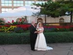 Bride and Groom by Aileene
