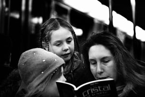 The public reading by ailleur