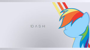 Rainbow Dash Wallpaper by JeremiS