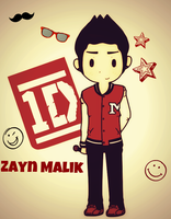 .:1D-Zayn Malik:. by Ask-City-Of-Houston
