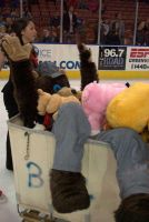I got tossed at the hockey game by MrEd301