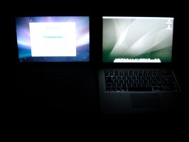 MacBook and MacBook Air in the by Mem0rex