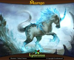 Moonga - Unicorn, Creator of Ice by moonga