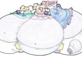 The Fat Chipettes. by Virus-20