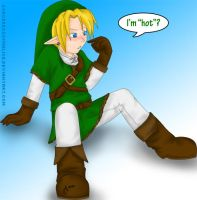 Link's Hot by SorceressofMalice
