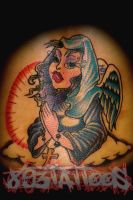 the NUN by gil893tattoos