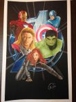 Avengers Poster by Chips05