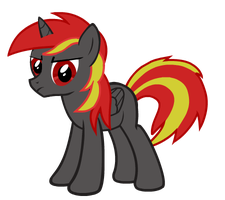 blood fire 'pony avatar  DEMO edition' by burnoutprime7