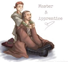 Star Wars - Master-Apprentice by famira