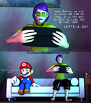 WE CAN DO THIS MARIO by ZeFlyingMuppet