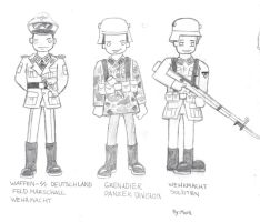 Werhmacht German Characters by CrashyBandicoot
