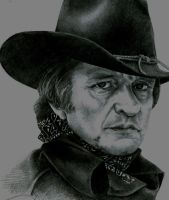 Johnny Cash by JasminX