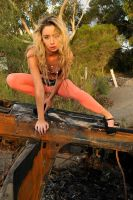 Jasmine and rusted wreck 2 by wildplaces
