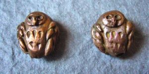Copper Owls - Beads by Carmabal