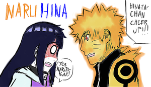 NaruHina- Bijuu Mode by Shadow-chan15