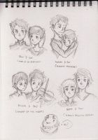 Studio Ghibli's Couples by AlbertRemong
