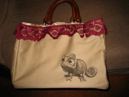 Disney Tangled Purse - back by daphnetails