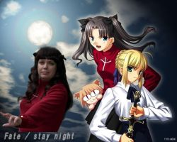 Fate stay night by Assara