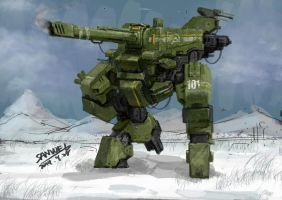 Russia mecha by marksanwel
