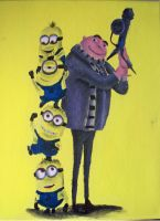 More Minions, More Despicable by billywallwork525