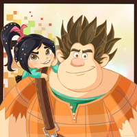 The Wreck it Ralph drawing by Domestic-hedgehog