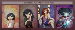 Age Meme: Nami Sada by Jazz-Rhythm