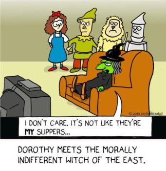 Morally indifferent witch of the east by The-Sardonics