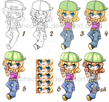 Chibi Progress by YuikoHeartless