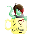Flake loves Coffee~ Jurnaldoll for Maniactheleader by Meshion