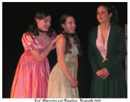 Evil Stepmother and Daughters by raemack